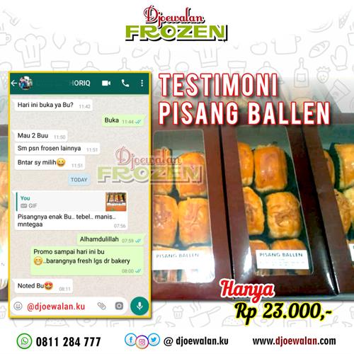 Pisang Ballen produk Djoewalan Frozen Food & Mart